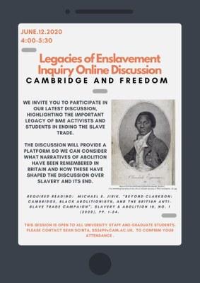 Cambridge and freedom