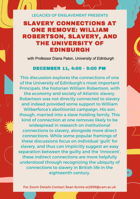 Slavery connections